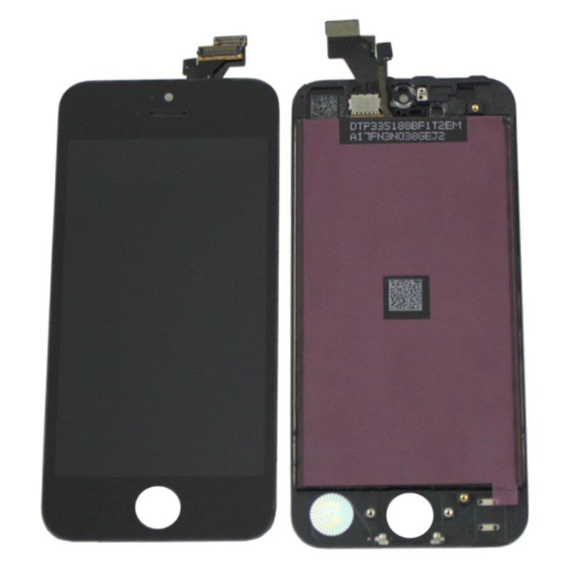 Apple iPhone 5 LCD Touchscreen Display Rahmen Schwarz, 20,00 €