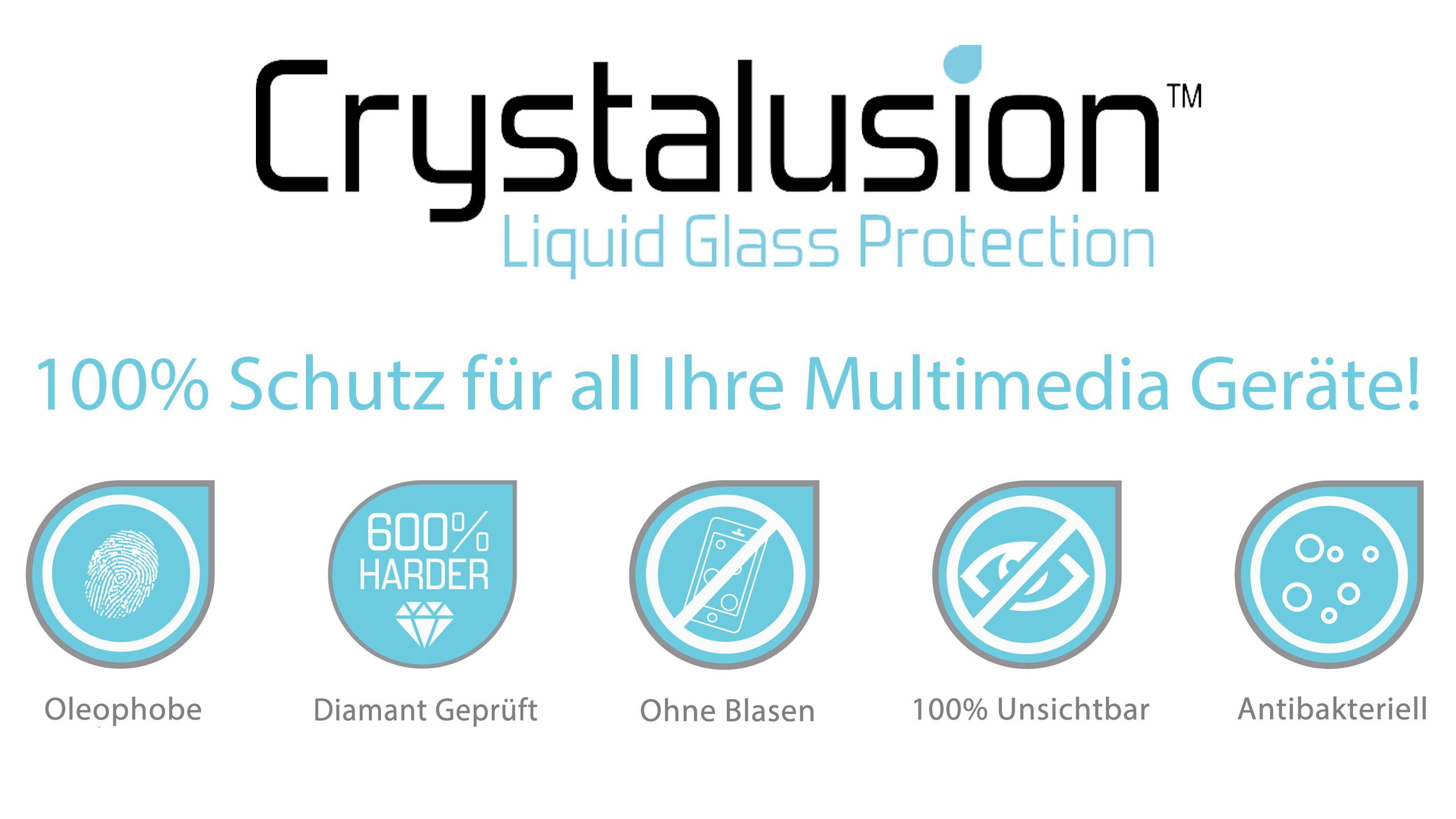Crystalusion - Flüssigglasschutz